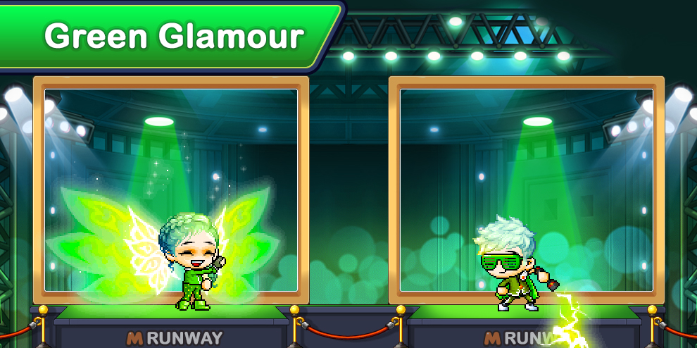 Green-glamour