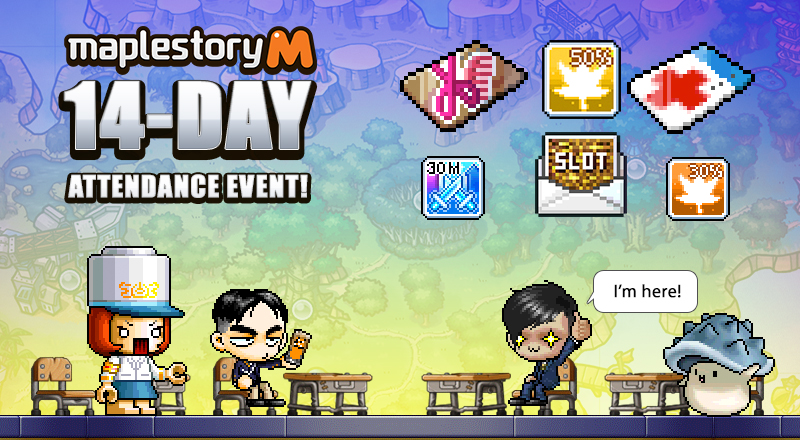 MSMW-121-1807016-MapleStory-M-14day-event